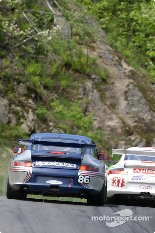 La Porsche GT3 Cup n°86 du G&W Motorsports (David Murry, Tracy Krohn, Mae Van Wijk)