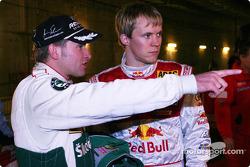 Armin Schwarz and Mattias Ekström