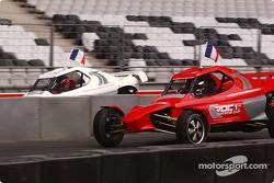Jean Alesi and Sébastien Loeb