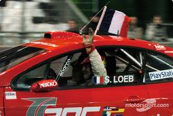 Final: winner Sébastien Loeb celebrates