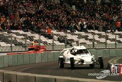 Michael Schumacher and Sébastien Loeb