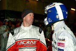 Colin McRae und David Coulthard