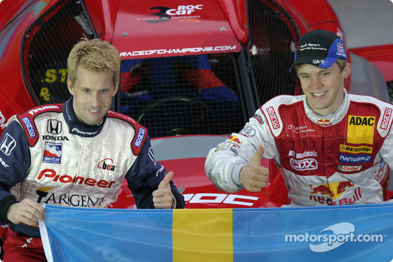 Team Sweden: Kenny Brack and Mattias Ekström
