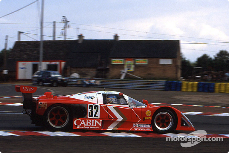 #32 Courage Competition Cougar Nissan R88V: Takao Wada, Anders Olofsson, Akio Morimoto