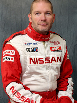 Nissan Rally Raid Team presentation: Jean-Marie Lurquin