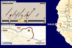 Stage 15: 2005-01-15, Tambacounda to Dakar