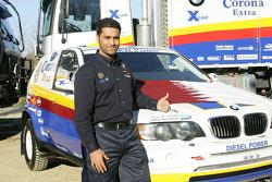 BMW X5 Rally Raid Team presentation: Nasser-Saleh Al-Attiyah