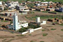 Vue aérienne du Maroc
