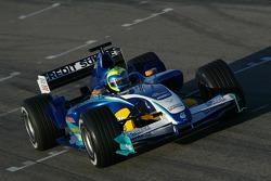 Felipe Massa teste la nouvelle Sauber Petronas C24
