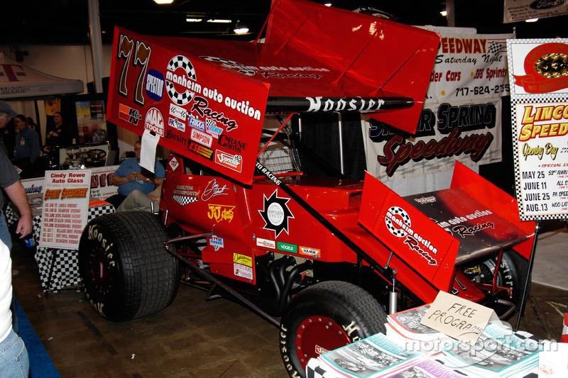 Al Hamilton's #77 Super Sprinter. Greg Hodnett at the wheel this year. at Fort Washington ...