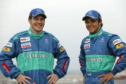 Jacques Villeneuve et Felipe Massa