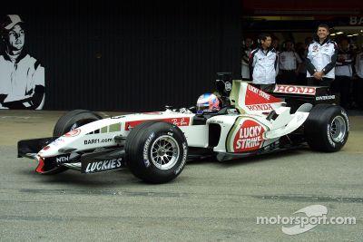 Apresentação do BAR Honda 007
