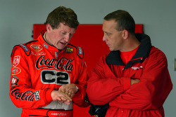 Bill Elliott with Lee McCall