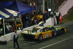 Pitstop for #54 Kodak - Bell Motorsports Pontiac Doran: Terry Borcheller, Paul Tracy, Christian Fittipaldi, Forest Barber, Ralf Kelleners