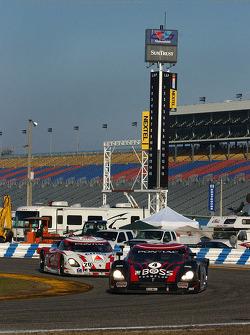 #4 Howard - Boss Motorsports Pontiac Crawford: Butch Leitzinger, Elliott Forbes-Robinson, Jimmie Johnson