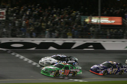 Bobby Labonte, Ryan Newman and Kurt Busch