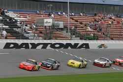 Jeff Gordon, Kurt Busch, Kyle Busch and Dale Earnhardt Jr.