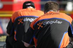 Cingular Chevy crew members