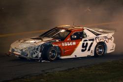 Accident for Kurt Busch
