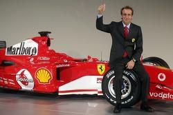Luca Badoer, Ferrari-Testfahrer