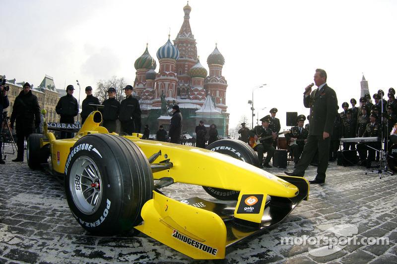 Самая русская: Jordan на Красной площади в Москве (2005)