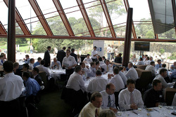 Williams-BMW HP event at the Opera House in Sydney: a view of the guests