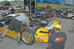 Kodak - Bell Motorsports crew members at work