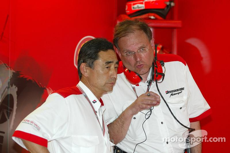 Hiroshi Yasukawa y Kees van der Grint
