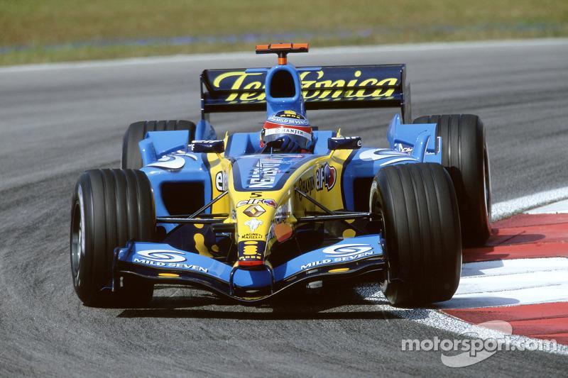 2005: Renault R25 (восемь побед и десять подиумов, титул в КК)