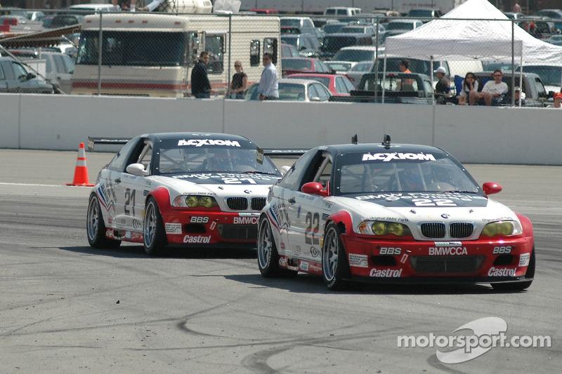 Prototype Technology Group BMW M3 : Chris Gleason, Ian James; Prototype Technology Group BMW M3 : Bill Auberlen, Joey Hand