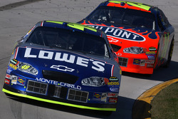 Jimmie Johnson y Jeff Gordon