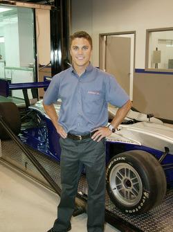 Travis Gregg at Sam Schmidt Motorsports headquarters
