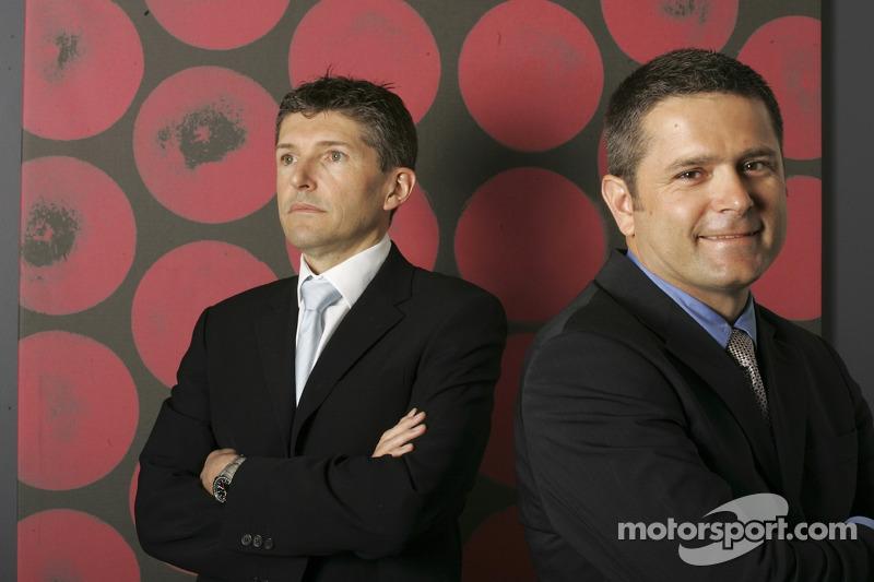 BAR Honda team portraits