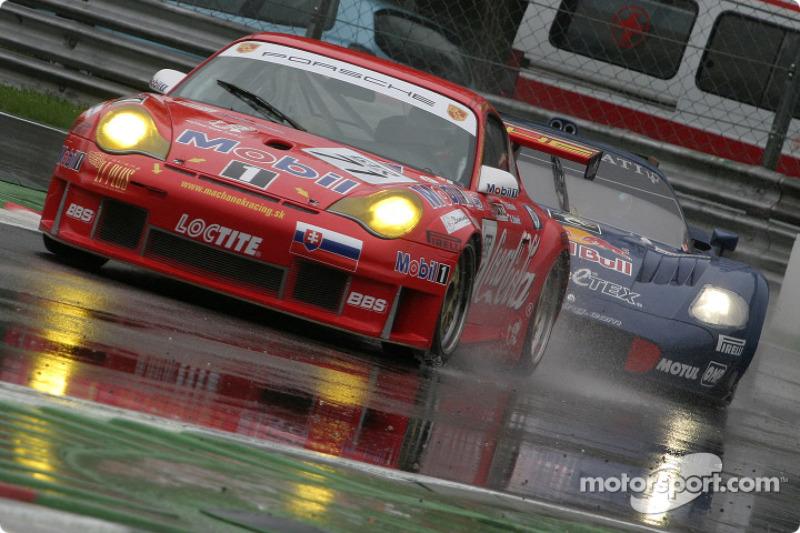 #71 Machanek Racing Porsche 996 GT3 RSR: Rudolf Machanek, Andy Studenic