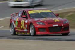#50 Southpaw Racing Mazda RX-8: Mike Halpin, Ernie Becker