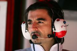 Toyota race engineer Francesco Nenci