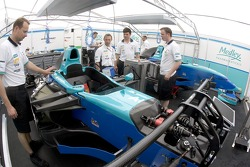 Hitech Piquet Sports garage area
