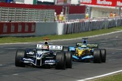 Mark Webber and Giancarlo Fisichella