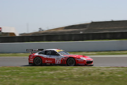 #12 Larbre Compétition Ferrari 550 Maranello: Enzo Calderari, Lilian Bryner, Steve Zacchia
