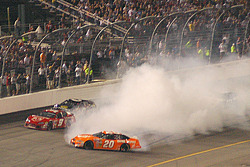 Tony Stewart spins out