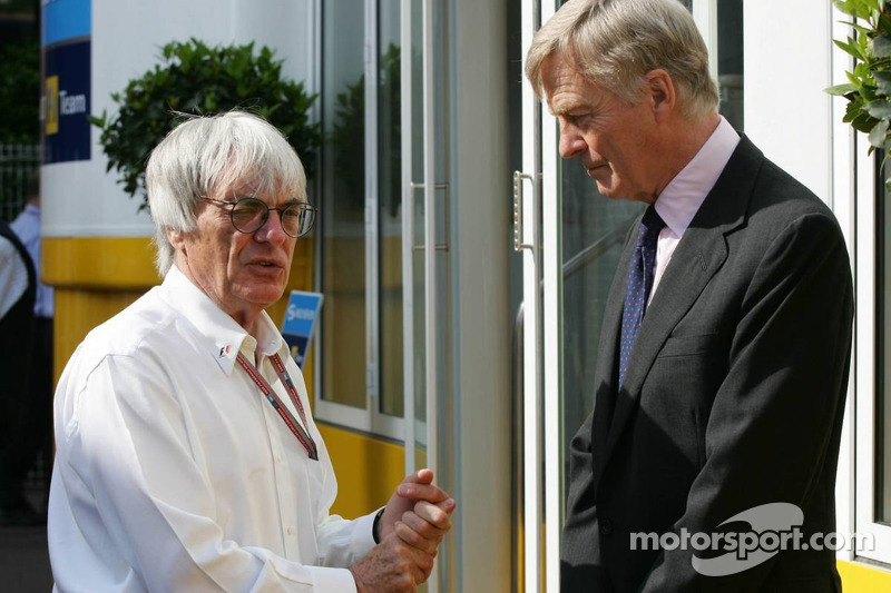 Bernie Ecclestone y Max Mosley