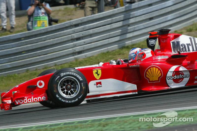 Jenson Button y Rubens Barrichello