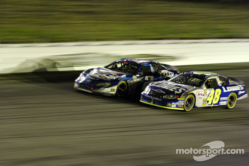 Rusty Wallace y Jimmie Johnson