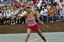 Tennis exhibition match: Anna Kournikova
