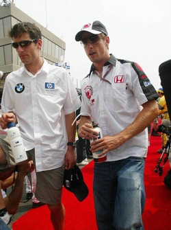 Mark Webber and Jenson Button
