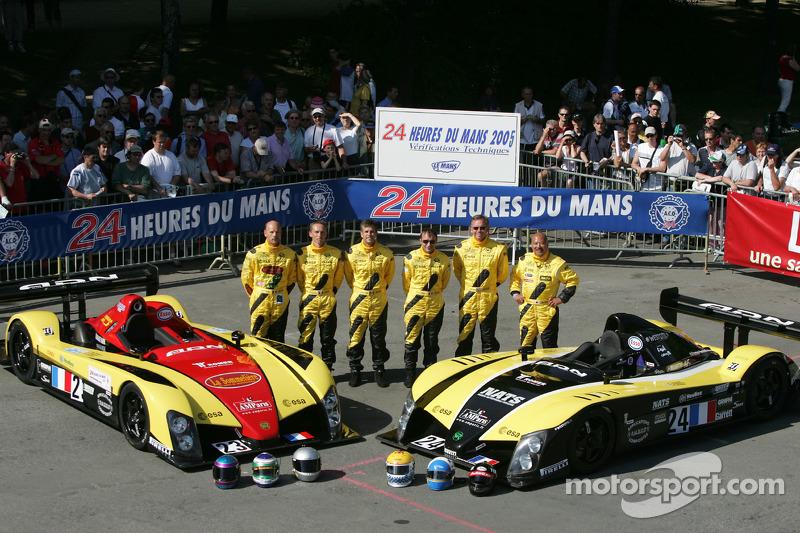 Welter Racing WR Peugeot : Jean-Bernard Bouvet, Sylvain Boulay, Robert Julien; Welter Racing WR Peugeot : Yojiro Terada, Patrice Roussel, William Binnie
