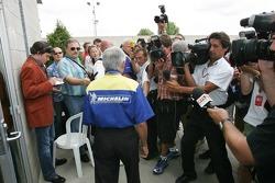 Pierre Dupasquier nach dem Michelin-Meeting