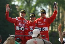 Fabrizio Gollin, Christian Pescatori and Miguel Ramos