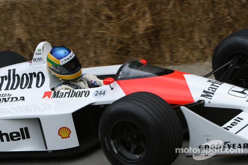 1988 McLaren-Honda MP4/4, classe 10 : Bruno Senna