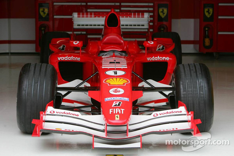 The Ferrari of Michael Schumacher